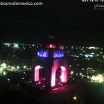 Monumento a la Revolución, Ciudad de México, de rosa por el mes de la lucha contra el cancer de mama: http://t.co/CAAZGJYLfJ