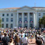 RT @UCBerkeley: Sproul rally brings FSM veterans, current students together http://t.co/nUjFqlgB1K #FSM50 http://t.co/wFFnnhmqCV