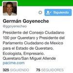 El queretano Germán Goyeneche es señalado como su operador... http://t.co/lMAu1TWBbj http://t.co/Nu5Enk9Vjz