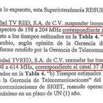 SIGET ordena a Canal 11 que suspenda ya su transmisión y la retome en Canal 37. Foto @teledos_tcs @radio102nueve http://t.co/UWJOw5GZus