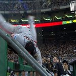 RT @MLB: He. Caught. This. Wow. #WildCard http://t.co/oveCDk5h92
