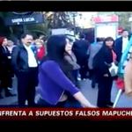 Mapuches macheteando moneas seguro porque se quedaron cortos pa la caja de vino por culpa de la reforma tributaria. http://t.co/cEzTRlBlCG