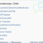 #SudamericanRockers acaba de convertirse en TT ocupando la 6ª posición en Chile. Más en http://t.co/a3AcARY74z http://t.co/D0OAgWkSEe