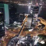 RT @tomgrundy: Aerial shot - middle of the night at just one of the #OccupyCentral #UmbrellaRevolusion sites. Unknown source. http://t.co/oe0eMVRcJt