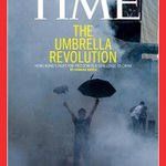"RT @prchovanec: Hong Kongs ""Umbrella Revolution"" makes the cover of TIME http://t.co/tzL2DBql1H http://t.co/2Jn0Q4hpM8"