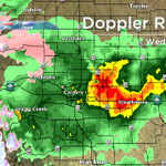 RT @GlobalCalgary: Heavy rain and snow falling in Calgary and area. NOT a nice night. Your full 7-day forecast at 11:00. #yyc http://t.co/GmGifkhwLS