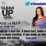 RT @joel__Samuel: @divyadutta25 joins the @IBNLive #CleanUpIndia campaign. You too can join, Tweet your pledge http://t.co/Zg41pLS4sN