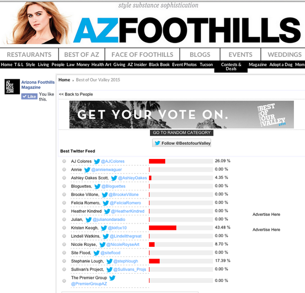 CLICK HERE TO VOTE!! Best twitter feed in Arizona. #verified i got the gif advantage http://t.co/MRj0g6xkkD http://t.co/DiC8OFBW4x