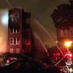 RT @PeterNickeas: Total east wall collapse , Congress / Kostner #chicago http://t.co/eTHtkZD3rh