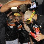 CELEBRATE! The #SFGiants are moving on to the NLDS. #postseason http://t.co/Ob37Dk9GIJ