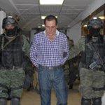 "El número 1 del Cártel de los Beltrán Leyva, Héctor Beltrán Leyva ""El H"" ingresó a la SEIDO de la @PGR_mx http://t.co/sfZ4werTGJ"