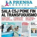RT @prensagrafica: El Salvador declara ilegal el cambio de partido político #PortadaLPG http://t.co/XNMjoJ0MiR