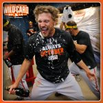 Hunter Pence celebrates National Kale Day….and the #SFGiants win #OctoberTogether http://t.co/rtLLJPIgGM