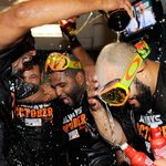 RT @MLB: Clinching … It's so good. Once it hits your lips, it's so good. #WildCard http://t.co/lybSDOwQmj