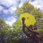 RT @wang_maya: RT @varsitycuhk: Goddess of Democracy Statue @ #UBC, #Vancouver. Photo by @UBCfyi http://t.co/Ze9H32hkXH