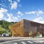 坂茂氏は建築界のノーベル賞とも呼ばれるプリツカー賞を今年受賞。同氏が設計した恒久的な美術館はこれが初めて⇒【写真】坂茂氏の「アスペン美術館」、米コロラド州に完成 http://t.co/3UHHanySQH http://t.co/hvjURmPaof