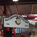 RT @MyNottingham: Its the 720th #GooseFair - only the bubonic plague and two World Wars have stopped it from happening! #nottingham http://t.co/Af3mJpUEN9