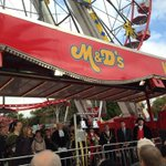 The Lord Mayor, Cllr Ian Malcolm has now declared the 720th #GooseFair OPEN! #nottingham http://t.co/9poyjCBKQE