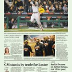 RT @louiegrendon: Heres tomorrows @SFGateSports cover featuring our very grand #Giants. http://t.co/EFieBKRJlP