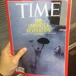 RT @ongreno: Hot off the press. Literally. @TIME #OccupyCentral #UmbrellaRevolution #HongKong http://t.co/A69TCqampF