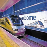 """Hayi!! """"@TimesLIVE: Gautrain services resume after cable theft http://t.co/mXCspNUy6o http://t.co/eeKZUbaBwk"""""""