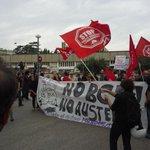 In partenza il corteo @BlockBce dalla #metro Colli Aminei. #Napoli #cronaca http://t.co/LTHeABsNPR