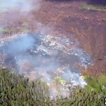 WATCH NOW: Puna lava flow advances for the first time in days. Learn how far its moved on KGMB/KHNL #hinews http://t.co/7YATwqLFKb