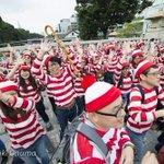 """【圧巻】渋谷に100人のウォーリーが出現 http://t.co/39jerXgg41 作者の誕生日である9月27日、オリジナルの""""ウォーリーダンス""""を披露するダンスフラッシュモブや、撮影会を行った。 http://t.co/hvp4GBWHee"""