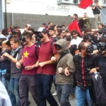 RT @corrmezzogiorno: Pulcinella in corteo #blockbce #napoli http://t.co/yu4hWJKaWD