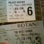 Nonton bareng with @RosmaUmeroh beda flm nonton my idiot brother @Siluyyuliez watching The Maze Runner @Cinema21_BGR http://t.co/jnHKDzbOmg
