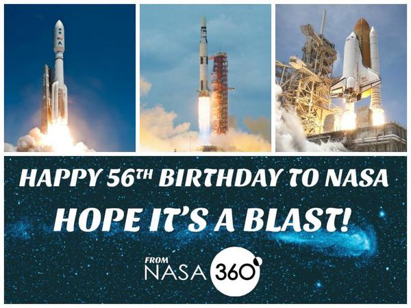 I'm very proud 2 have worked 4 such an incredible agency. Thx @NASA  @NASAedu  @NASA360 and #happybirthday ! #STEAM