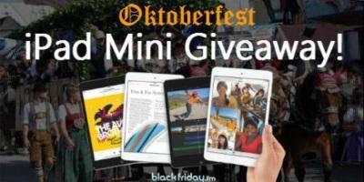 Only 1 Hour Left! RT & Follow to Win an Apple iPad Mini from @blackfriday_fm   GIVEAWAY: http://t.co/tLhFTrsEMI http://t.co/hzrnbJ0Ule