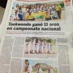 RT @JCGossain: Imparables los deportistas del BolivarGanador.Ahora el Taekwondo con 11 oros en Campeonato Nacional. http://t.co/lwrWCB3HFe