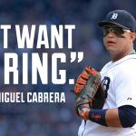 RT @SportsCenter: ICYMI: Miguel Cabrera is reportedly passing on a chance to receive his playoff bonus. » http://t.co/p1czucpkZu http://t.co/cIyiVi2PIX