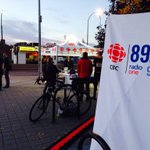 Here comes the sun! Talking commuting in #YWG tune to #cbc893fm #wpg14 #cbcinthepeg http://t.co/jAkpUpjh2Z
