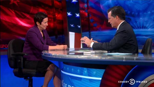 Great to see @limlouisa stare down @StephenAtHome last night in segment on Hong Kong protests. http://t.co/UNZTR1WihV http://t.co/8qH0nNMxXp