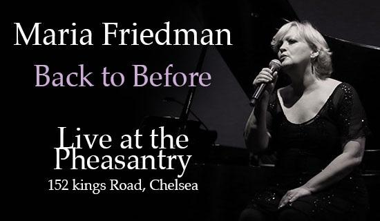 @MariaFriedman1 Back to Before Live at the Pheasantry from 14th October book your tickets now http://t.co/2LIz4xv0zS http://t.co/j7ptbMRpvO