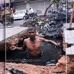 """@SanaKhanGeek: What do they get in return for this dirtiest job? => http://t.co/2MMvRMGjl5 #DirtyJobs #Jobs #India http://t.co/IpXqbxHZ0q"""