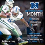 RT @Lions: RT to congratulate DeAndre Levy on being named the NFC Defensive Player of the Month! http://t.co/z7gO0g5SRH