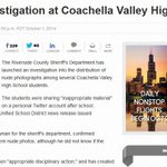After #cvprobs account tweets nude pics to students, police investigate #CVHS. http://t.co/FD01iEuoqe @MyDesert http://t.co/xJ6fFmx6gy