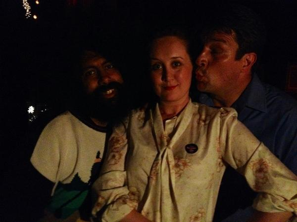 That time that @NathanFillion & @reggiewatts and I went to prom #tbt http://t.co/lyj78yY4LE