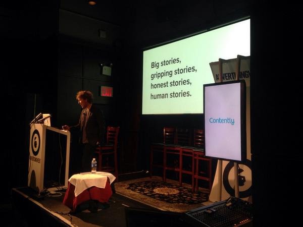 """The best way to make people care all boils down to telling great stories""   @shanesnow at @advertisingweek http://t.co/EG04SbhsEw"