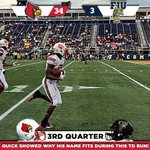 #ItsGood2Be #CardNation as we head to the final quarter of the game with the lead over FIU. #L1C4 http://t.co/2WBbOPnaYH