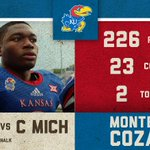 RT @KU_Football: Montell Cozart had a pretty good day at the office. #kufball http://t.co/owNNRWKs3m