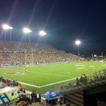 First game under the lights #ticats #hamont @SJAHamiltonMFR http://t.co/TtdDq90SEK
