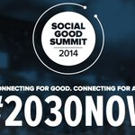 Here's how you can follow this year's Social Good Summit online: http://t.co/zfyGlKgnj3 #2030NOW http://t.co/mzv7kawICE