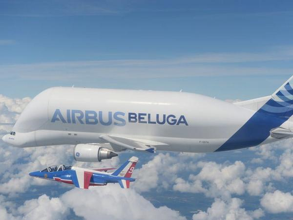 "Happy birthday, Airbus Beluga! The ""world's strangest-looking airplane"" turns 20: http://t.co/7wxu5RkAjg http://t.co/Yx8DjVExHC"