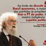 RT @UriasOM: Nem Aécio, nem Marina tem propostas para o Brasil. Só querem o poder pelo poder, pra vender o Brasil para os EUA http://t.co/8gA9T7NYAk