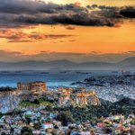 RT @VarmaLumo: This is #Athens #Greece today. Magical indeed ... http://t.co/tWRCcmLbp2