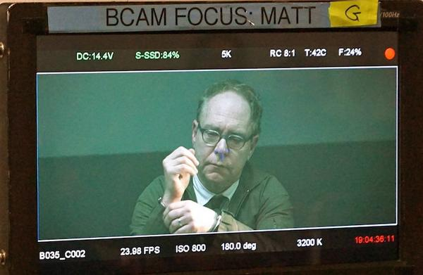 Here @MrTeller waits for his interrogators.  #DirectorsCut @MakePennBad @AdamRifkin @PennJillette http://t.co/eAKKgO3uJ4